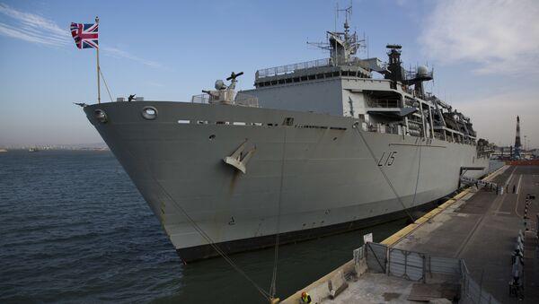 Un navire de la Royal Navy - Sputnik France