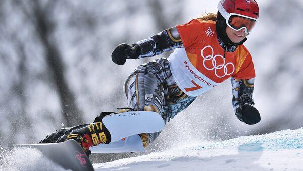Олимпиада 2018. Сноуборд. Женщины. Параллельный гигантский слалом - Sputnik France
