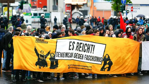 Protestations contre l'AfD - Sputnik France