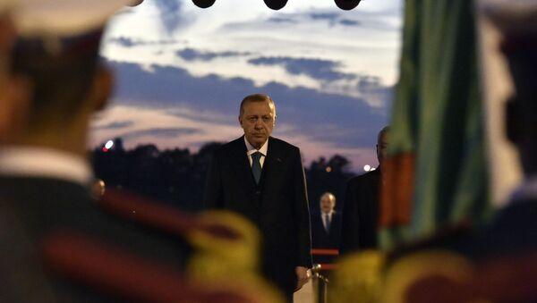 Erdogan lors de sa visite en Algérie - Sputnik France