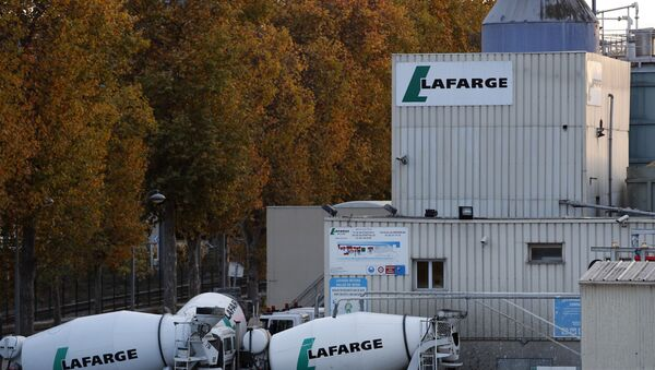 Un site du cimentier Lafarge à Paris - Sputnik France