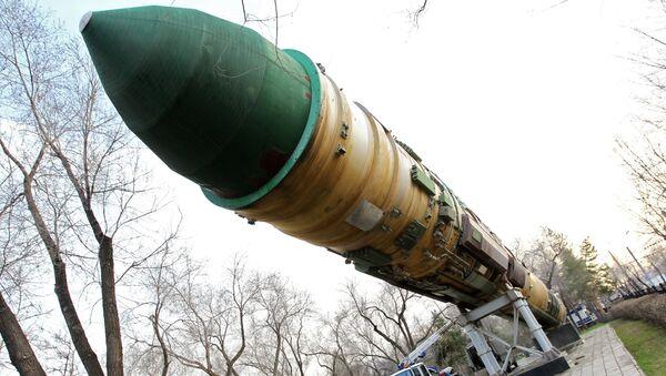 Missile balistique intercontinental RS-20 Voevoda - Sputnik France