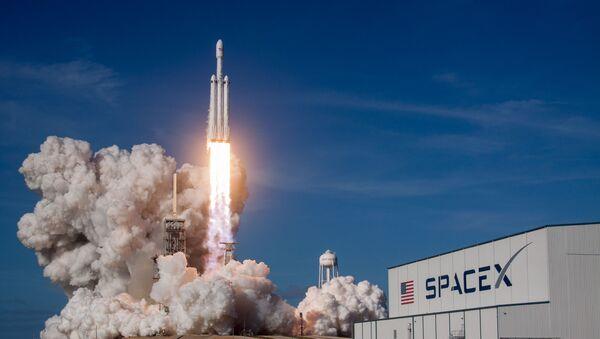 Lancement du Falcon Heavy - Sputnik France