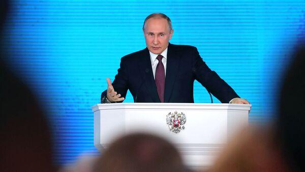 Message annuel de Vladimir Poutine à l'Assemblée fédérale - Sputnik France