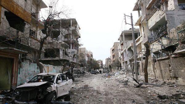 La ville syrienne de Douma - Sputnik France