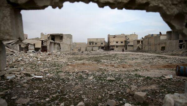 La ville syrienne de Douma, en Ghouta orientale - Sputnik France