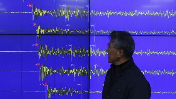 Un tremblement de terre - Sputnik France