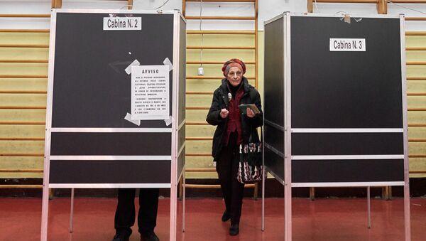 Elections en Itale - Sputnik France