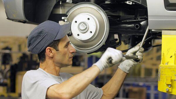 Начало сборки автомобилей Citroen в Калуге - Sputnik France