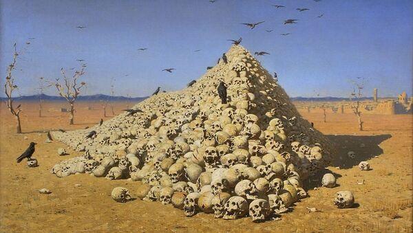 L'Apothéose de la guerre, par Vassili Verechtchaguine - Sputnik France