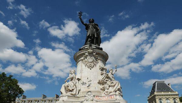 Place de la République à Paris (image d'archives) - Sputnik France