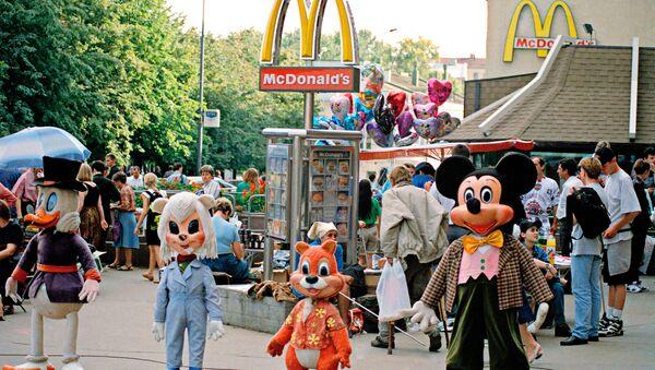 Un restaurant McDonald's à Moscou - Sputnik France