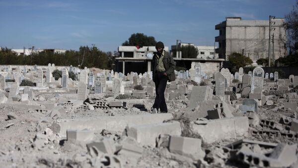 La Ghouta orientale (image d'archives) - Sputnik France
