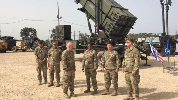 Американские военные во время совместных маневров в Израиле - Sputnik France