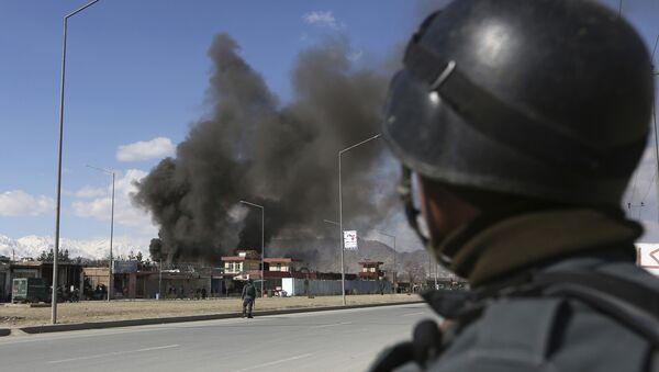 Un membre des forces de sécurité afghanes (image d'archives) - Sputnik France