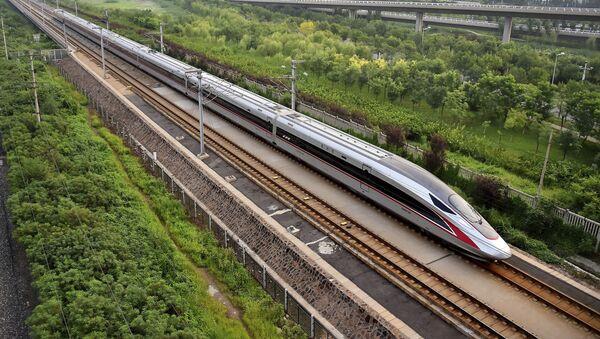 Train à grande vitesse Fuxing - Sputnik France