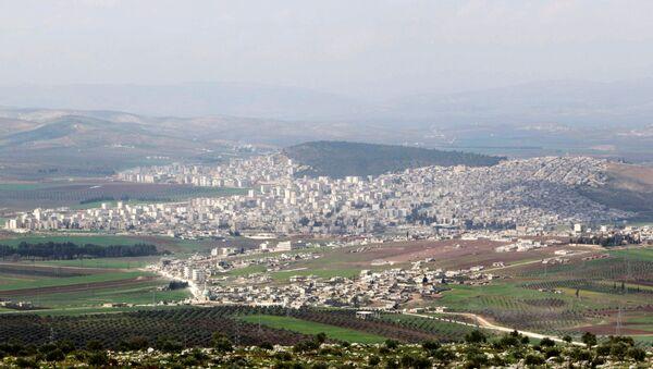 La ville syrienne d'Afrine (archive photo) - Sputnik France