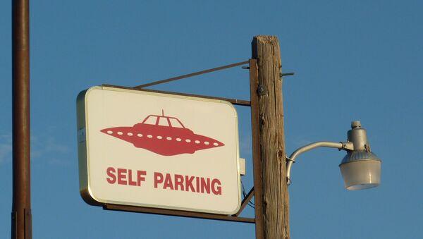 UFO self parking - Sputnik France