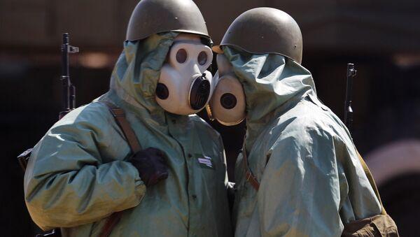 Des armes chimiques (image d'illustration) - Sputnik France