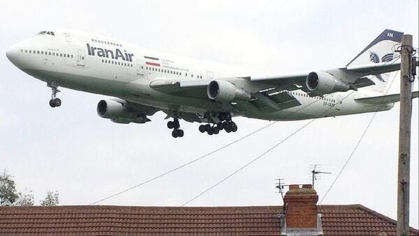 Un avion de l'Iran Air - Sputnik France