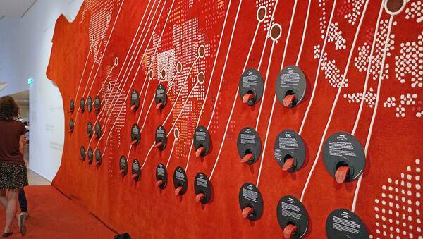 Le mur des langues (Musée de l'Homme, Paris) - Sputnik France