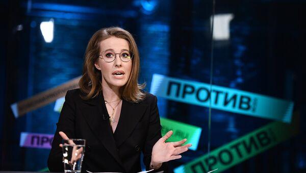 Ksenia Sobchak - Sputnik France