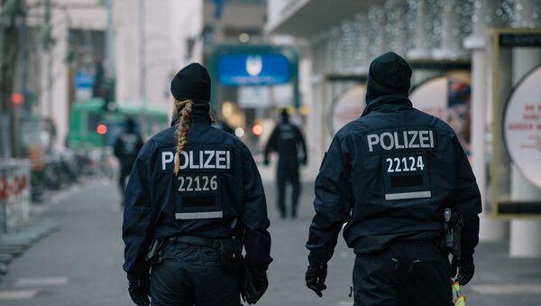 des policiers allemands (images d'illustration) - Sputnik France