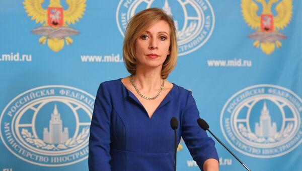 Maria Zakharova - Sputnik France