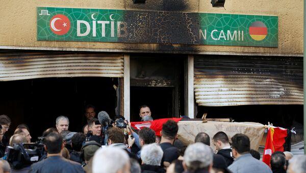 Incendies de mosquées en Allemagne: des répercussions du conflit turco-kurde? - Sputnik France