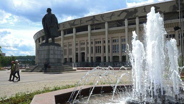 Le stade Loujniki à Moscou - Sputnik France