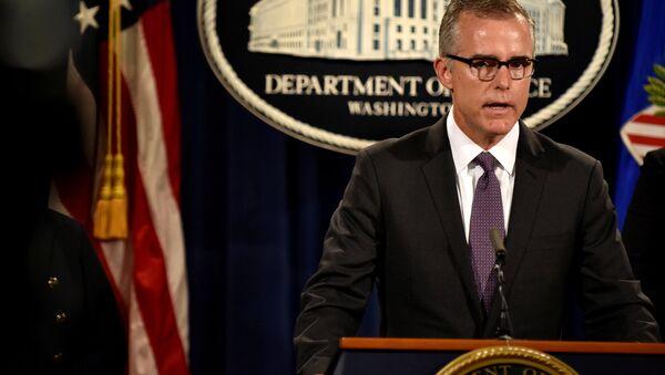 Andrew McCabe, directeur adjoint du FBI - Sputnik France