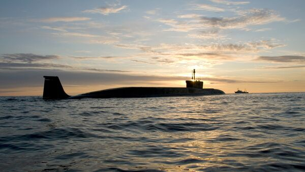 Le sous-marin de la classe Borei - Sputnik France