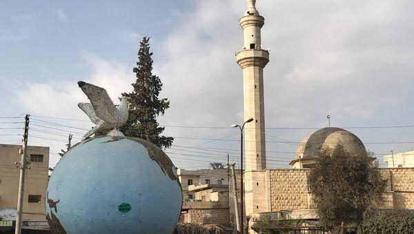 Le square central à Afrine, en Syrie - Sputnik France