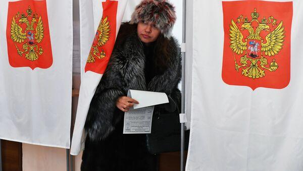 L'élection présidentielle en Russie - Sputnik France