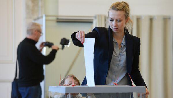 Голосование на выборах президента России за рубежом - Sputnik France