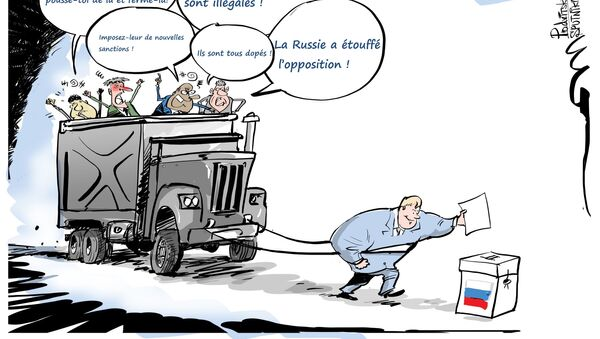 Élection présidentielle russe de 2018 - Sputnik France