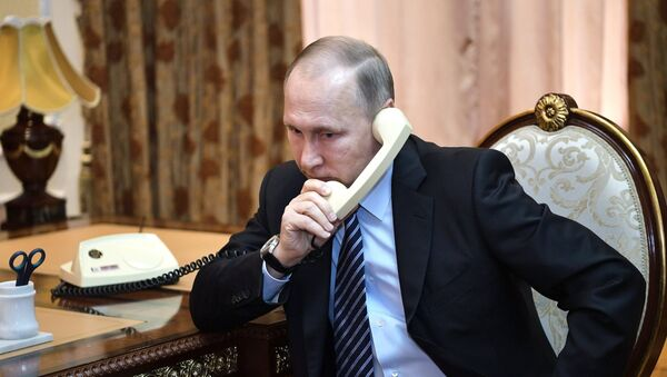 Vladímir Putin, presidente de Rusia - Sputnik France