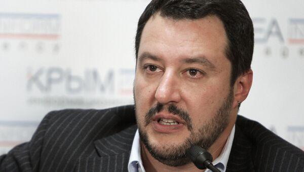 Matteo Salvini ha sempre condannato le sanzioni antirusse, - Sputnik France