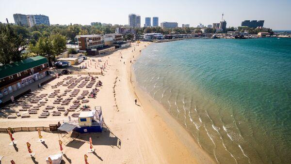 La plage centrale d'Anapa - Sputnik France