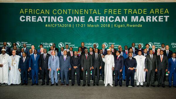 le sommet de l'Union africaine consacré au lancement officiel de la zone de libre-échange continentale (ZLEC) - Sputnik France