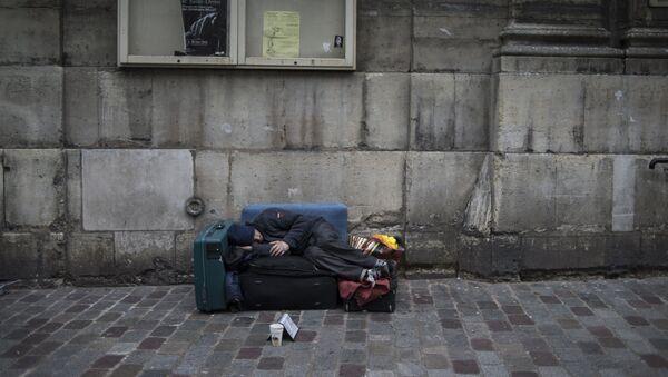 Un sans-abri (image d'illustration) - Sputnik France
