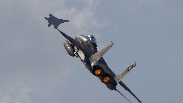 Deux F-15s israéliens - Sputnik France