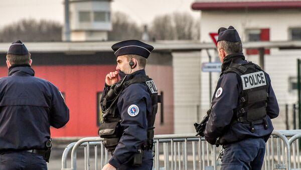 policiers français - Sputnik France
