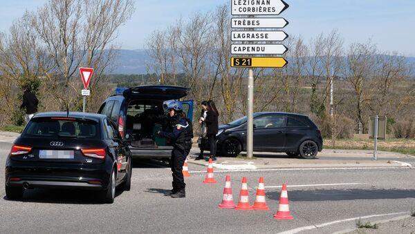 Une prise d'otage est en cours dans un supermarché de Trèbes - Sputnik France