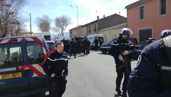 Prise d'otages dans l'Aude - Sputnik France