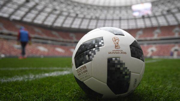 Un ballon officiel de la Coupe du monde 2018 - Sputnik France