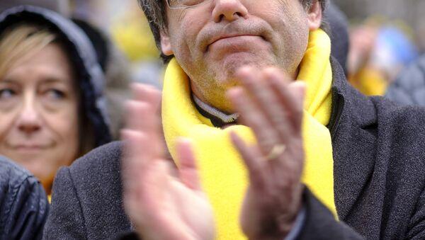 Carles Puigdemont à Bruxelles - Sputnik France