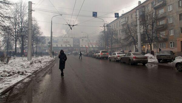 Пожар в торговом центре «Зимняя вишня» в Кемерово - Sputnik France
