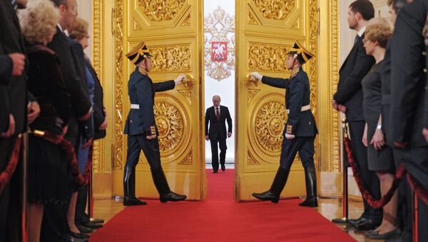 investiture du Président, 2012 - Sputnik France