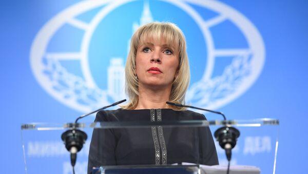 María Zajárova, portavoz del Ministerio de Exteriores de Rusia - Sputnik France